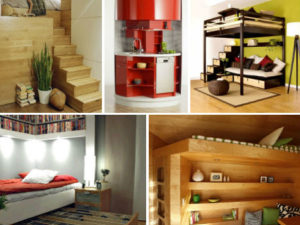 Cool furniture solutions for small spaces