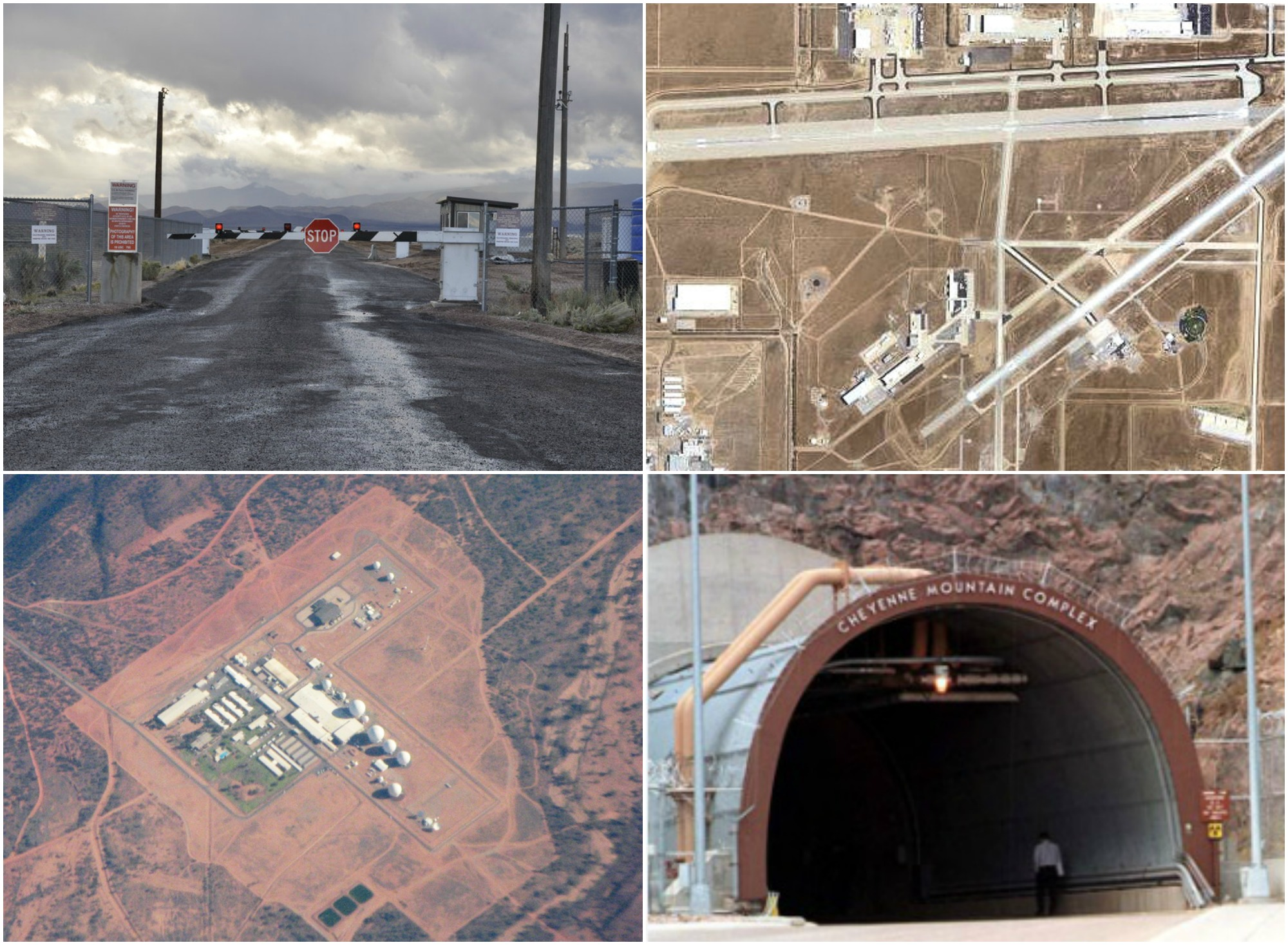 History: The Most Secret Military Bases In The World - CollegeFreakz