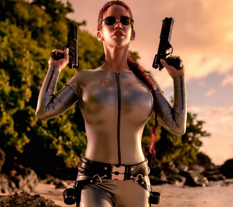 Gorgeous Women Dressed As Lara Croft Page 9 Of 24